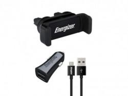 Energizer Max Universal CarKit 2USB+MicroUSB Cable Black ( CKITB2CMC3 )