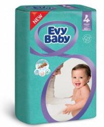 Evybaby pelene twinpack 4 Maxi 40 kom NOVO ( A002783 )
