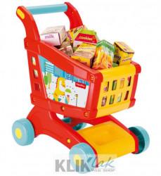 Fisher Price Kolica za kupovinu + set igračaka ( 018069 )
