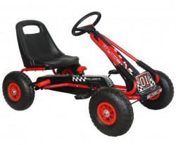 Formula na pedale Model 951 sa podesivim sedištem i gumama na naduvavanje - Crvena