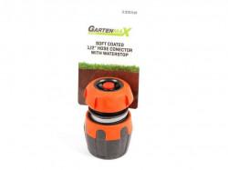 "Gartenmax spojka plastična 1/2"" sa stopom-lux ( 0310510 )"