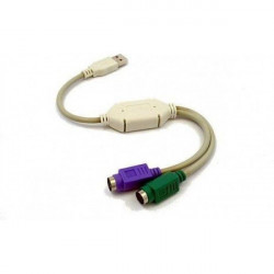 Gembird Adapter 2 ps/2 to USB 2.0 ( 2PS2-USB/Z )