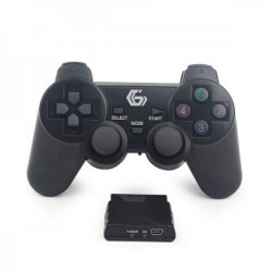 Gembird gamepad sa dvostrukom vibracijom PS2/PS3/PC( JOYWDV )