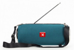 Gembird portable bluetooth speaker +handsfree 2x5W, FM, USB, SD, AUX + antena green SPK-BT-17-G
