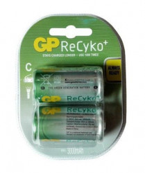 GP ReCyko+ C.HR14 1.2V 2600mAh punjive baterije ( LR14GP/Z )