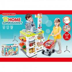 Grander, igračka, supermarket štand, 24 dela ( 870090 )