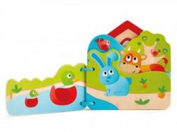 Hape drvena igračka bebi knjiga ( E0046 )