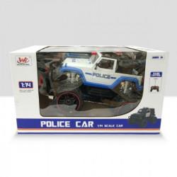 HK Mini igračka policijski auto sa svetlom ( A044784 )