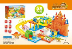 HK Mini igračka, vozni park - sa dvorcem ( A017829 )