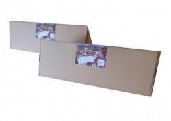 Home Set Veći - 6 komada šiljaka za rasterivanje ptica sa dvostrano lepljivom trakom