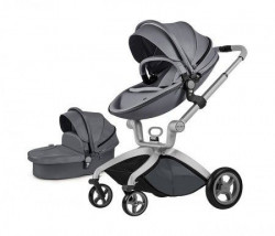 Hot Mom kolica dark grey 2u1 (sportsko sediste+korpa) ( F22D.GREY )