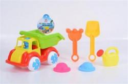 Igračke za plažu 6u1 kamion lopatica kantica ( 11/72998 )
