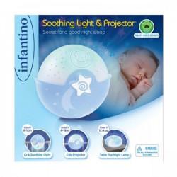 Infantino noćna lampa sa zvukom i tri funkcije - Plava ( 115020 )