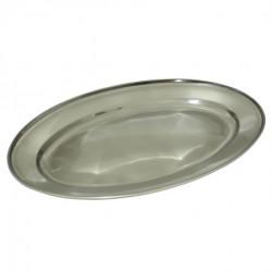 Inox ovalni poslužavnik, 45 cm ( 92-744000 )