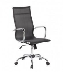 Kancelarijska fotelja 6001 od Mesh platna - Crna