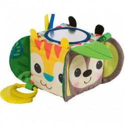 Kids II igračka mekana aktiviti kocka hide & peek block ( SKU11121 )