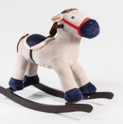 Knorrtoys Konj plišani Fritz beli sa zvukom ( 40570 )