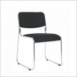 Konferencijska stolica C114W Crna 453x495x765 mm ( 755-909 )