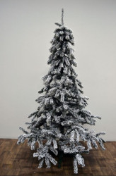 Kraljevska snežna novogodišnja jelka 220 cm