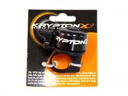 KryptonX zvonce sa pvc podloškom mini crno ( 190705 )