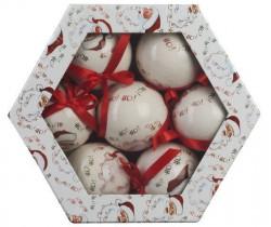 Kuglice božićne set 1/14 60 mm D6