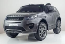 Land Rover Discovery 239/1 Licencirani džip sa kožnim sedištem i mekim gumama - Metalik sivi