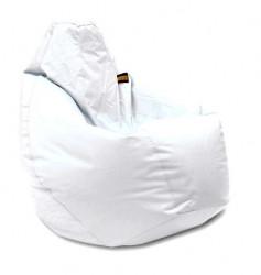 Lazy Bag - fotelje - prečnik 90 cm - Bela