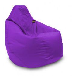 Lazy Bag - fotelje - prečnik 90 cm - Ljubičasti