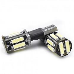 LED pozicije bele T10-7020-10SMD (2 kom) ( 03-040 )
