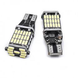 LED pozicije bele T15-4014-45SMD (2 kom) ( 03-045 )