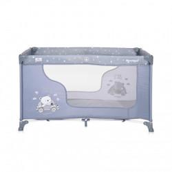 Lorelli prenosivi krevet moonlight 1 nivo - silver blue car (2021) ( 10080392154 )