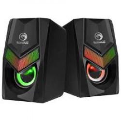 Marvo zvučnici USB RGB LED osvetljenje crni SG118 ( 005-0226 )