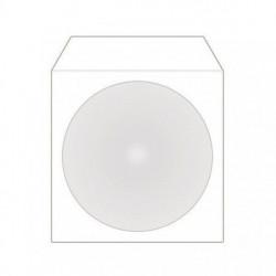 MediaRange BOX65-8 papirni omot za CD sa prozoron 8cm beli ( GPM/Z )