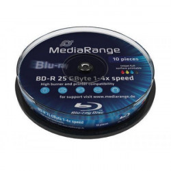 MediaRange MR496/10 BLU-RAY Printable 25GB 4X CAKE ( 525MR4P/Z )