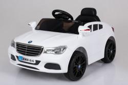 Mercedes XMX 816 Auto na akumulator sa kožnim sedištem i mekim gumama - Beli