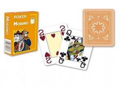 Modiano Cristallo Poker Karte - Narandžaste ( 300485 )