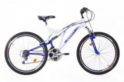 """MTB Bicikla Factor 600 26""""/18 bela/plava ( 650048 )"""