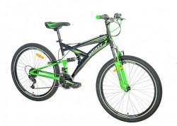 "MTB Bicikla Taurus 26""/18 crna/neon zelena ( 650034 )"