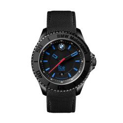 Muški Ice Watch BMW Moto Sport Crni Hronograf Ručni Sat Sa Crnim Silikonskim Kaišem