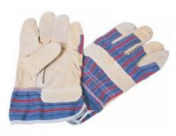 N/A LF1041 rukavice koža platno ( 006212 )