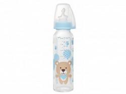 Nip flašica staklena 250ml sil.cucla za mleko 0m+ ( A001260 )