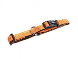 Nobby 78510-04 Ogrlica Soft Grip 15mm, 25/35cm oranž ( NB78510-04 )
