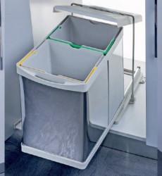 Pelikan Kanta za otpatke sa automatskim otvaranjem, svetlo siva, 14 + 14l ( 21200 )