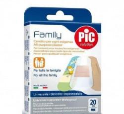 Pic flasteri family mix antibakterijski 20 kom ( A030008 )