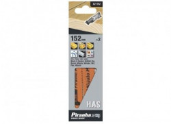 Piranha X21192 list za lisičji rep drvo PVC 152mm pakovanje 2kom