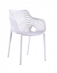 Plastična stolica TREE - Bela