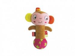 Primetoys Zvečka ručna mekana majmun MoMo ( 0127214 )