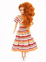 Prugasta haljina sa karnerima ( H-06 )
