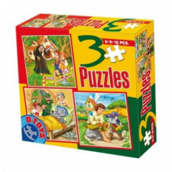 Puzzle 3 Fairy tales 05 ( 07/50922-05 )