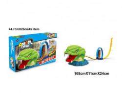 Qunsheng Toys, igračka trkačka staza snake ( A029634 )